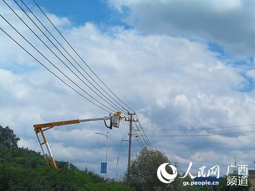 南方电网广西来宾合山供电局多举措保夏季可靠供电