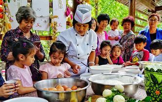 北京:乡村里的美食节