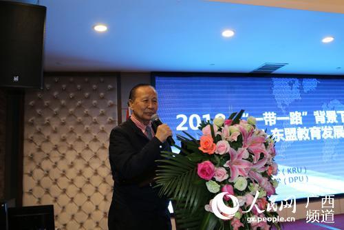 泰国格乐大学校长Prof.Dr.Krasae Chanawong
