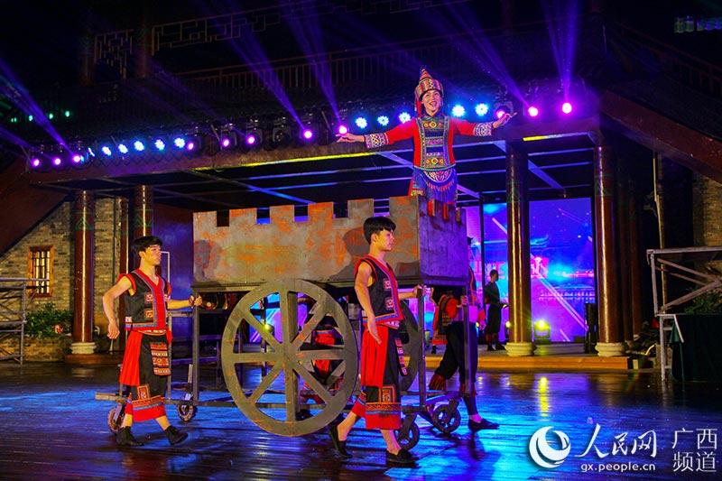瑶乡富川:大型微秀《教程圣典》演绎广西视频梦幻手串风情瑶家穿如何图片