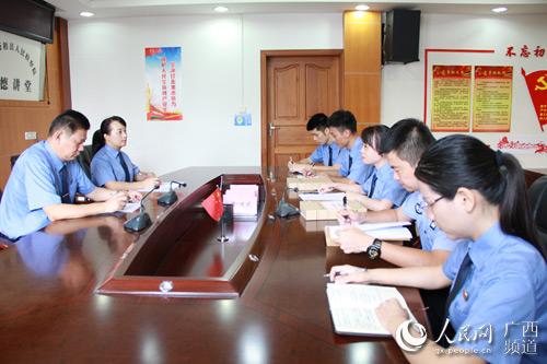 苍梧县人民检察院致力于公益诉讼