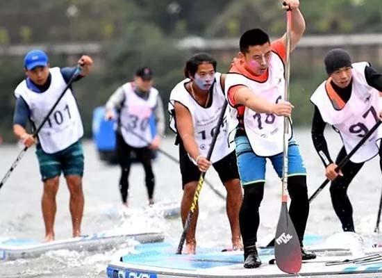 全國皮劃艇馬拉鬆公開賽10月20日在大化百裡畫廊舉辦