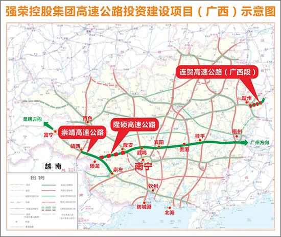 广西景点地图高清版本