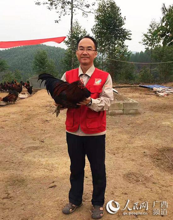 """廖熙元为东安村的土鸡""""代言"""""""