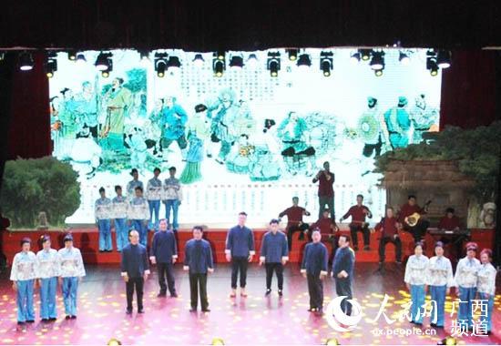 合浦县原创舞台剧《珠光帆影》将于春节期间首播