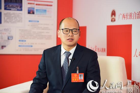 靖西gdp_人民网专访广西人大代表、靖西市市长郝玉松