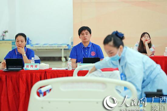 广西第六届农民工技能大赛决赛举行