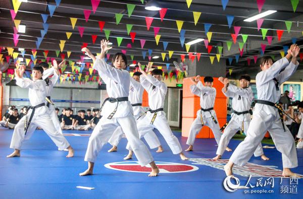 广西跆拳道协会与世界跆拳道(无锡)中心达成战略合作