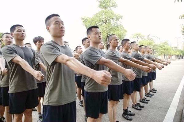 训练现场。邹庆林摄