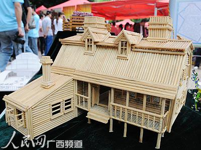 手工制作房子模型; 制作楼房_儿童手工制作楼房.