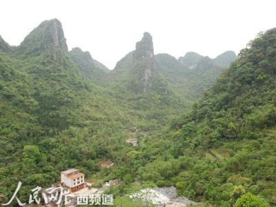 广西马山县弄拉屯保护生态环境促进经济发展