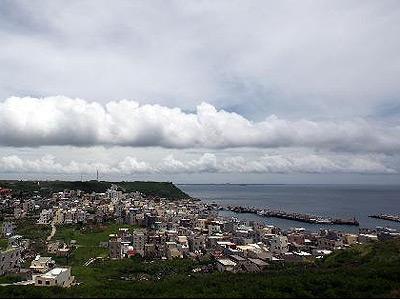 澎湖渔翁岛附近的小镇
