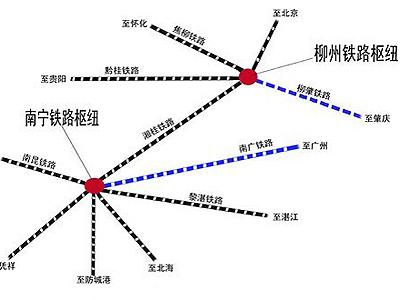 广西境内高铁线路图_高铁受创