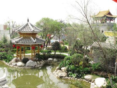 欧景园林_西安园林绿化_西安屋顶花园_西安庭院绿化_别墅绿化_景观