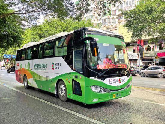 南宁市开通氢能源车型定制公交专线——D207路